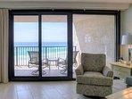 Living Room Area to Balcony