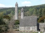 Glendalough Monastic site.