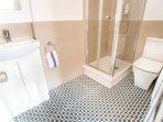 Bathroom with original tiles.