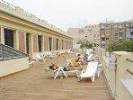 Chill out at Centro Supera Abastos sports centre 190m. Terrace open 12-4pm.