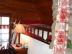 Chambre 2 lit en 120 cm
