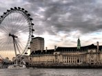 London Eye within 5 minutes walk