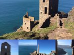 Nearby Tin Mines where Poldark Filmed
