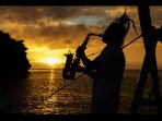 Owner Rob Zii Taylor  Sweet Saxophone Sunset Bliss