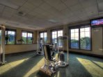 Fitness Center is well equipped for all your fitness needs!