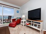 A whimsical 1BR/2BA 2nd floor unit with captivating views of the
