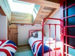 Bedroom 4 access via ensuite or via cute mazot door with step ladder!