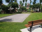 East Preston petanque is a minutes walk from the cottage