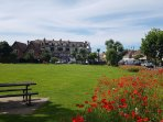 East Preston Village green with it's shops, restaurants and cafes is only a minutes walk away.