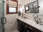 Full hall bath w/ shower only