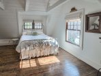 Upstairs bedroom w/ king