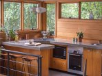 Spacious well equipped kitchen
