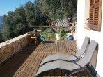 Terrasse côté solarium sans aucun vis à vis
