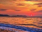 Sun Rise over Dalkey Island