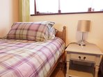 Single bed in one of our twin bedrooms