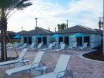 Cabanas for rent at Oasis Club