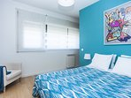Room with 2 beds or one King size bed and central heating.