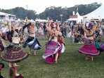 Immerse your self in Byrons festival culture. Bus Stop to festival &  Byron central 2 min walk.