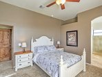 Slip into relaxation in the second master bedroom.