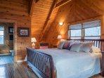 Upper level Oversize Master suite