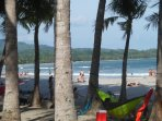 playa Sámara 4 km de la casa en temporada seca (verano)