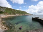 Lamorna slipway and harbour