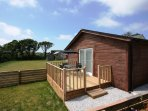 Decking and lodge