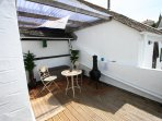 Covered decking