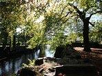 The river Fowey in nearby Lostwithiel