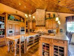 Wonderfully Appointed Kitchen