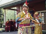 The retreat has been blessed by many masters and rituals, such as the Mahakala dance and Gesar tale.
