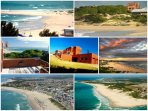 Beachfront villa with one of the best view in the city, front of JBay main beach
