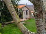 Jardín privado de la casa rural Casa Salva