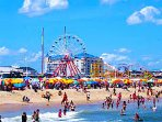 Bring your family to the shore. Ocean City is 57 miles from us
