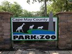Visit the Cape May Zoo and Park while your here:)
