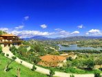 Panoramic View. River view , City view, Castle view, Mountains, Garden