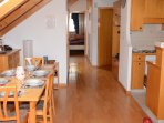 Appartement traversant Nord/Sud