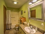 Freshen up and rinse away your daily activities in the charming and tidy bathrooms.