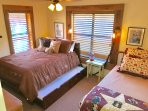 Captain's Full with twin trundle and twin bed. Sleeps 4.