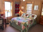 Downstairs Full Bed w/ adjacent bathroom