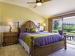 Master bedroom with private a Lanai