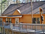 Book this gorgeous vacation rental cabin for an unforgettable North Carolina getaway!