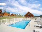 summer swimming pool