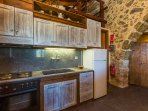 The kitchen of the third residence is practical and fully equipped!
