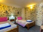 Twin bedroom located on the ground floor!