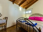 The double bedroom of the third residence is located in the attic!
