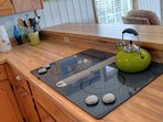 Cook a meal on the electric stove!