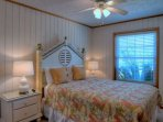 Queen beds with comfortable mattresses ensure your stay will be perfect!