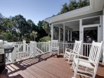 Sun Deck with Gas Grill.  Very Nice!