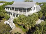 This Sullivan's Island home is great for families!